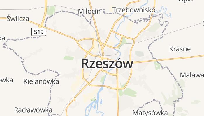 Rzeszów online kaart