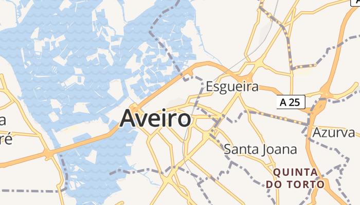 Aveiro online kaart
