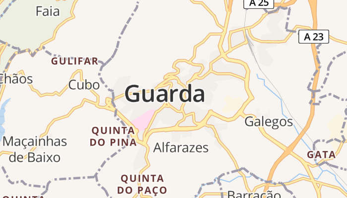 Guarda online kaart
