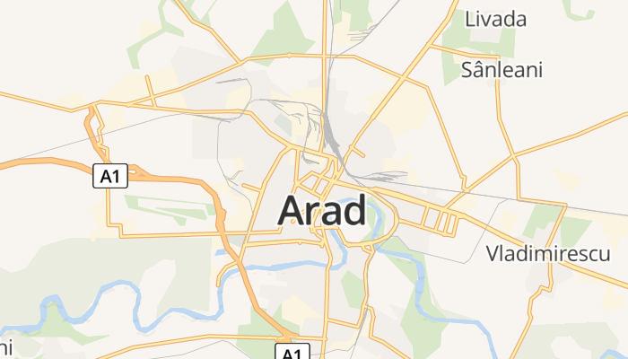 Arad online kaart