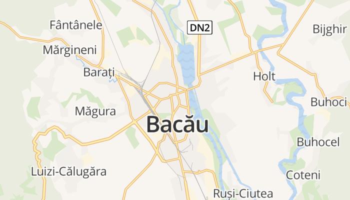 Bacău online kaart