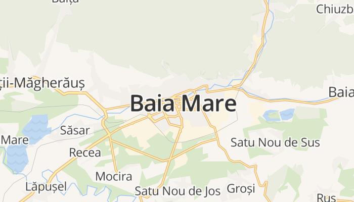 Baia Mare online kaart