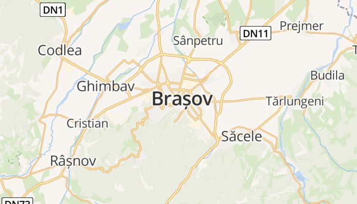 Braşov online kaart
