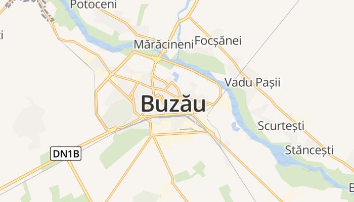 Buzău online kaart