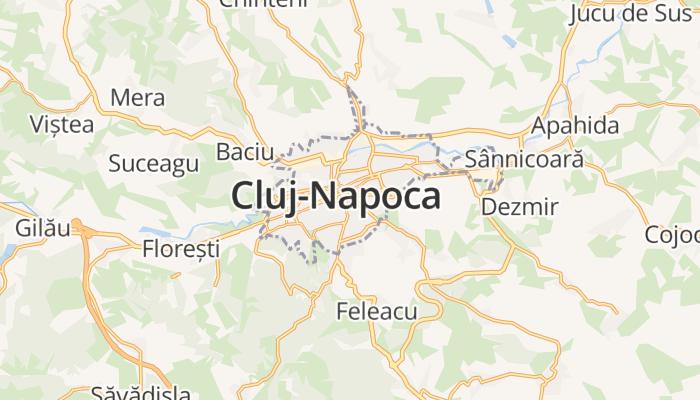 Cluj-Napoca online kaart
