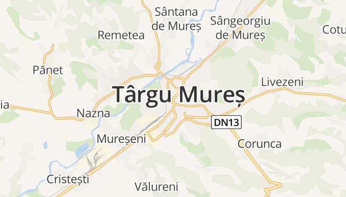 Tîrgu Mureş online kaart