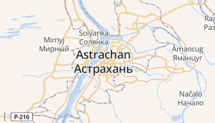 Astrachan online kaart
