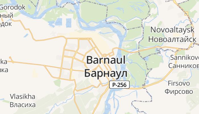 Barnaoel online kaart
