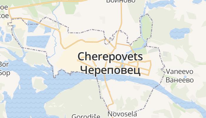 Tsjerepovets online kaart