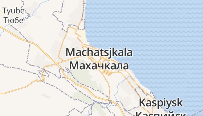 Machatsjkala online kaart