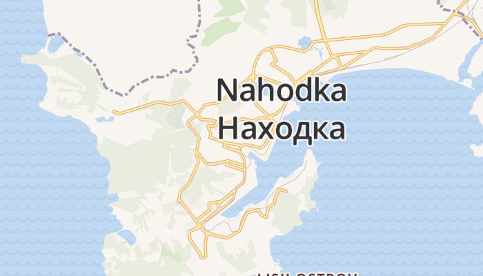 Nachodka online kaart