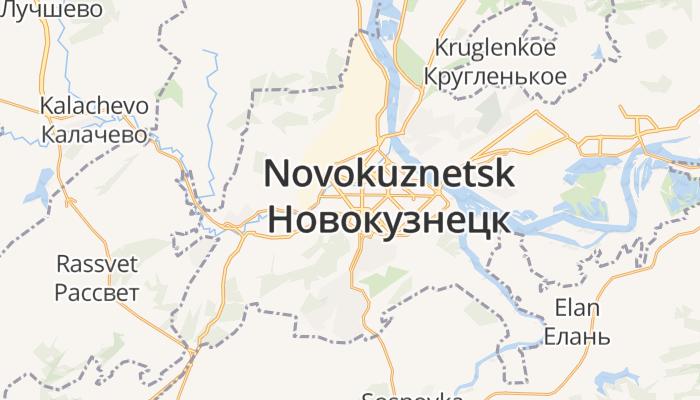 Novokoeznetsk online kaart