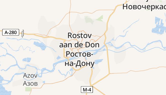 Rostov aan de Don online kaart