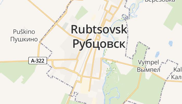 Roebtsovsk online kaart