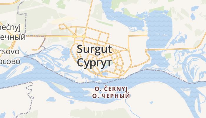 Soergoet online kaart