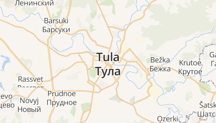 Toela online kaart