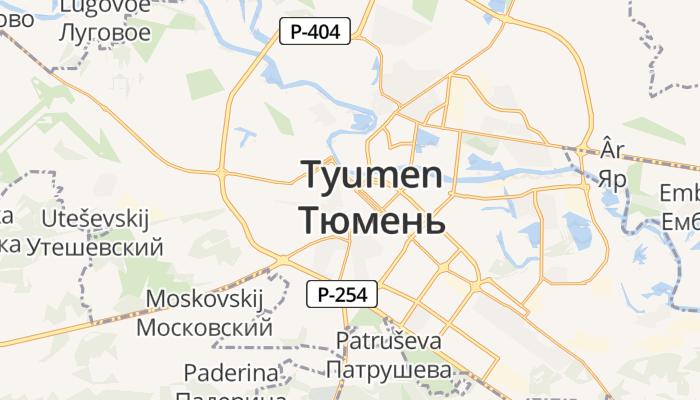 Tjoemen online kaart