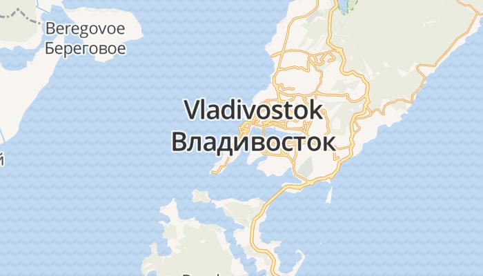 Vladivostok online kaart