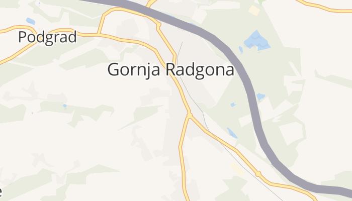 Gornja Radgona online kaart
