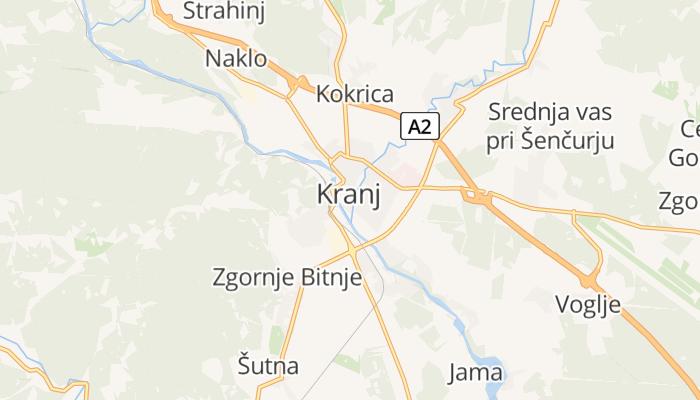 Kranj online kaart