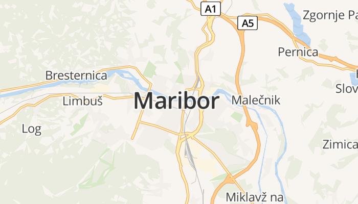 Maribor online kaart