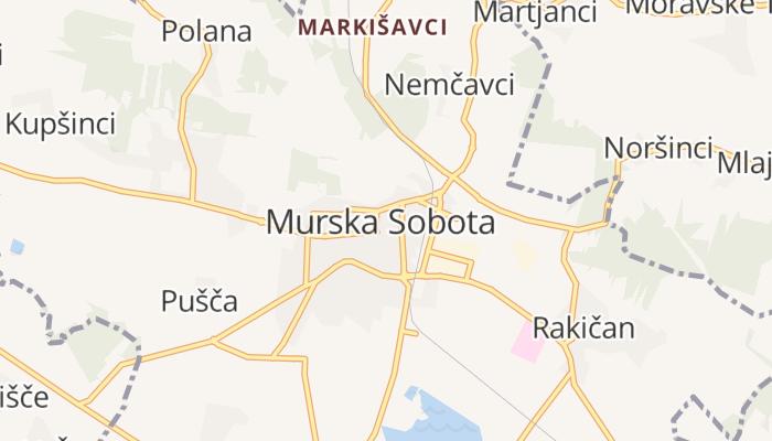 Murska Sobota online kaart
