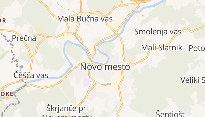 Novo mesto online kaart