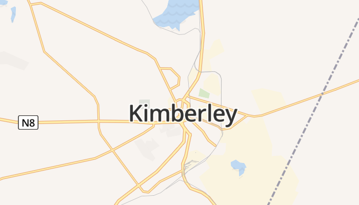 Kimberley online kaart