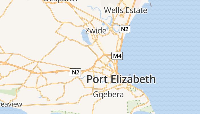 Port Elizabeth online kaart