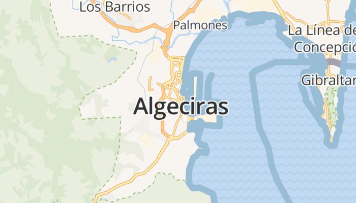Algeciras online kaart