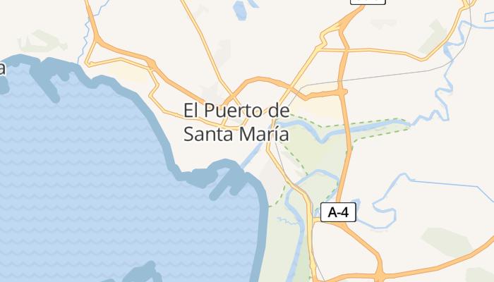 El Puerto de Santa María online kaart