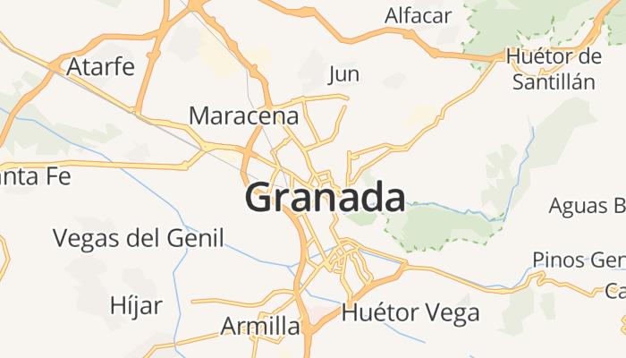 Granada online kaart