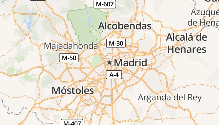 Madrid online kaart