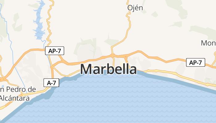 Marbella online kaart