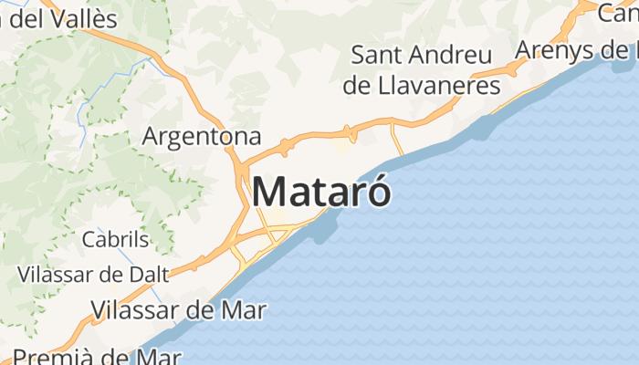 Mataró online kaart