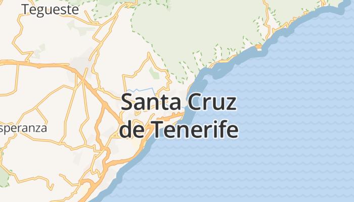 Santa Cruz de Tenerife online kaart