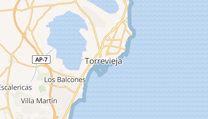 Torrevieja online kaart