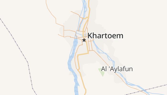 Khartoem online kaart
