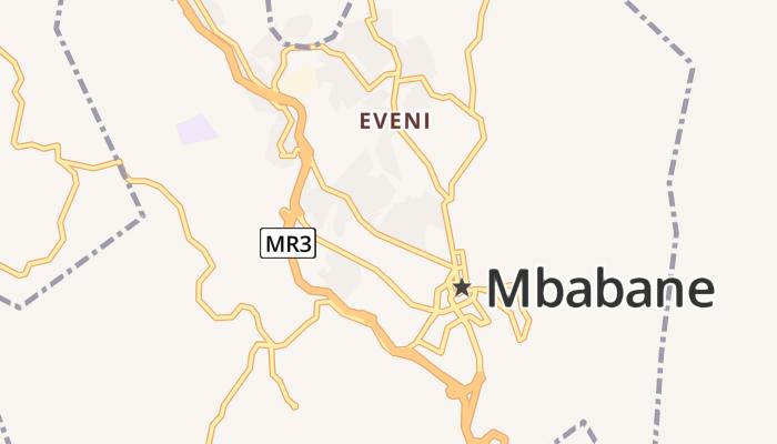 Mbabane online kaart