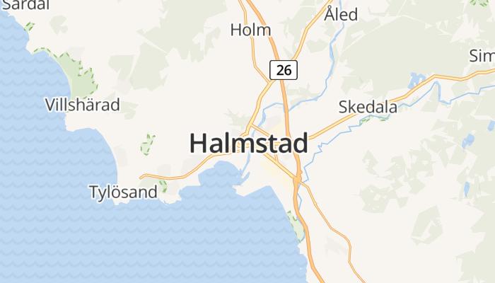 Halmstad online kaart