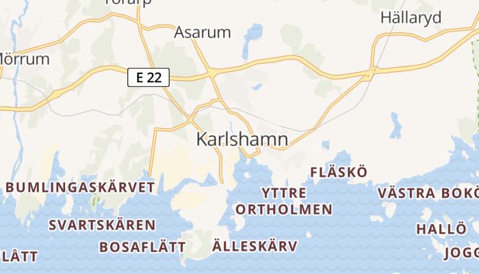 Karlshamn online kaart