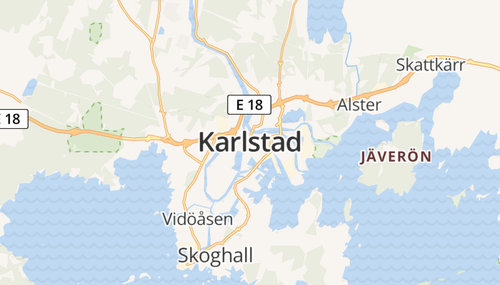 Karlstad online kaart