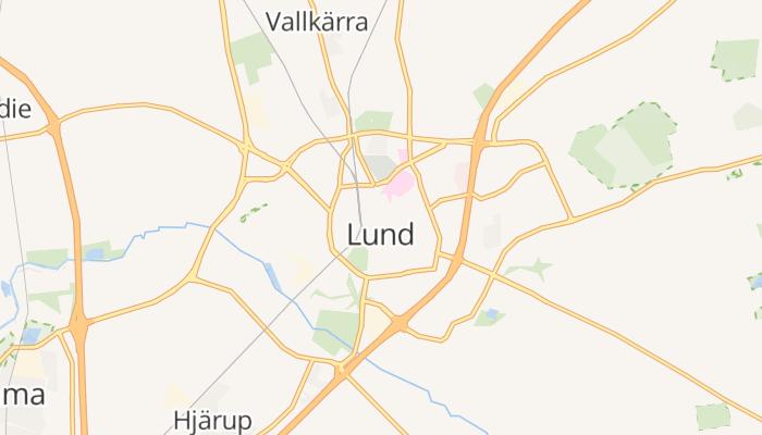 Lund online kaart