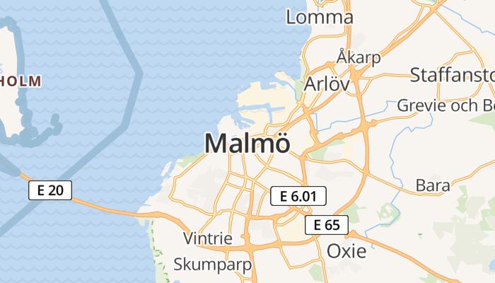 Malmö online kaart