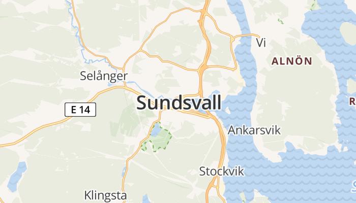 Sundsvall online kaart