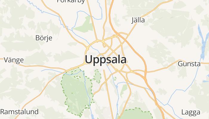 Uppsala online kaart