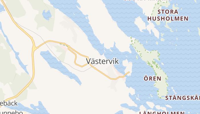 Västervik online kaart