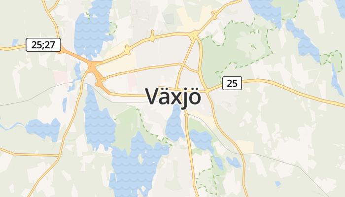 Växjö online kaart