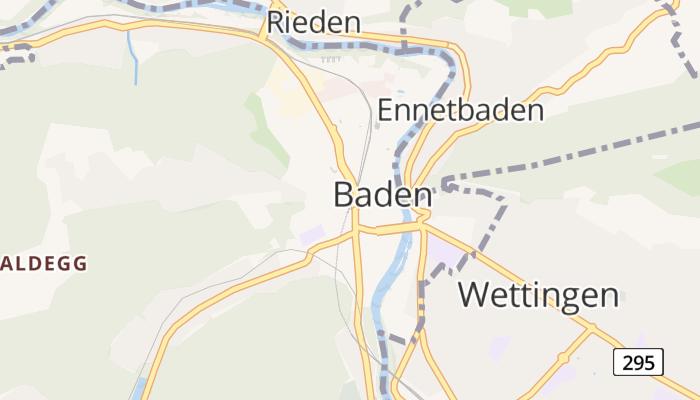 Baden online kaart