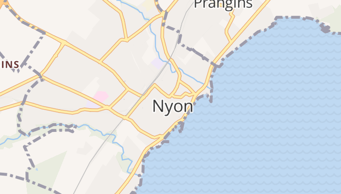 Nyon online kaart